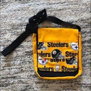 Handmade Steelers Purse